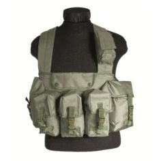 Mil-Tec - Chest Rig 6 pockets olive