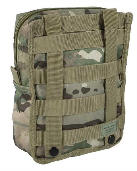 MOLLE belt pouch large multitarn