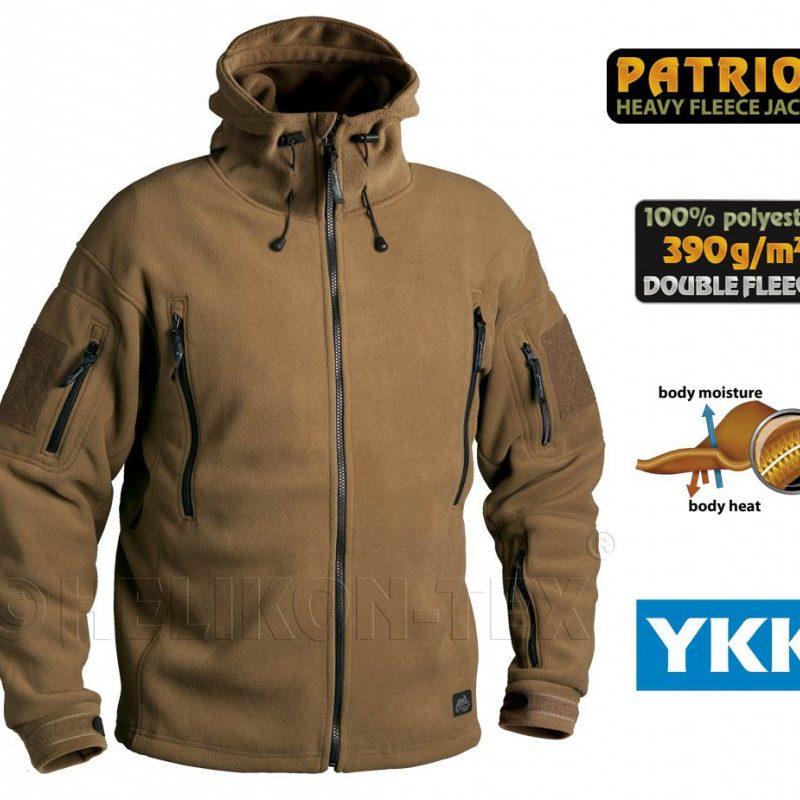 Patriot heavy fleece jacket coyote size M - BFG Outdoor acfb7216afb