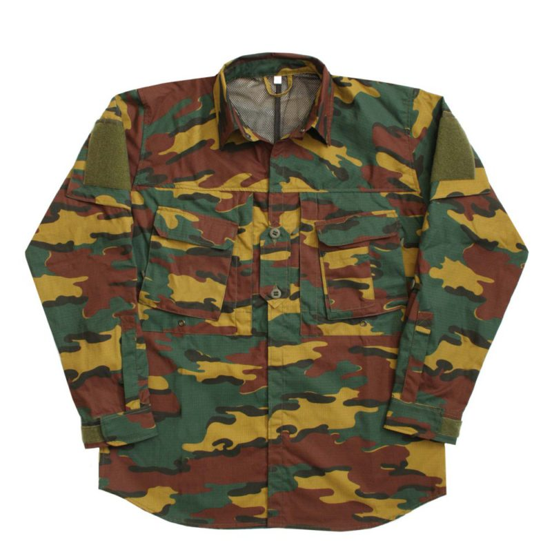 4955014818be0 A110 hot climate shirt BE camo M - BFG Outdoor